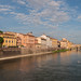 Looking towards the Ponte Vecchio
