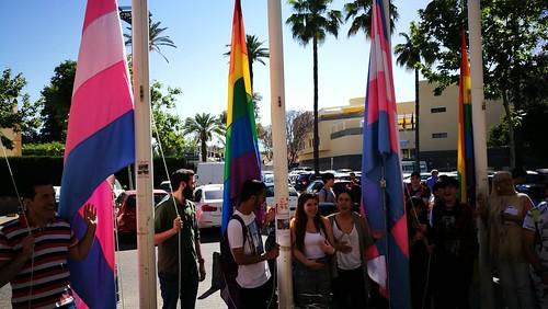 Acto Día Internacional contra la LGTBifobia en Huerta Palacios