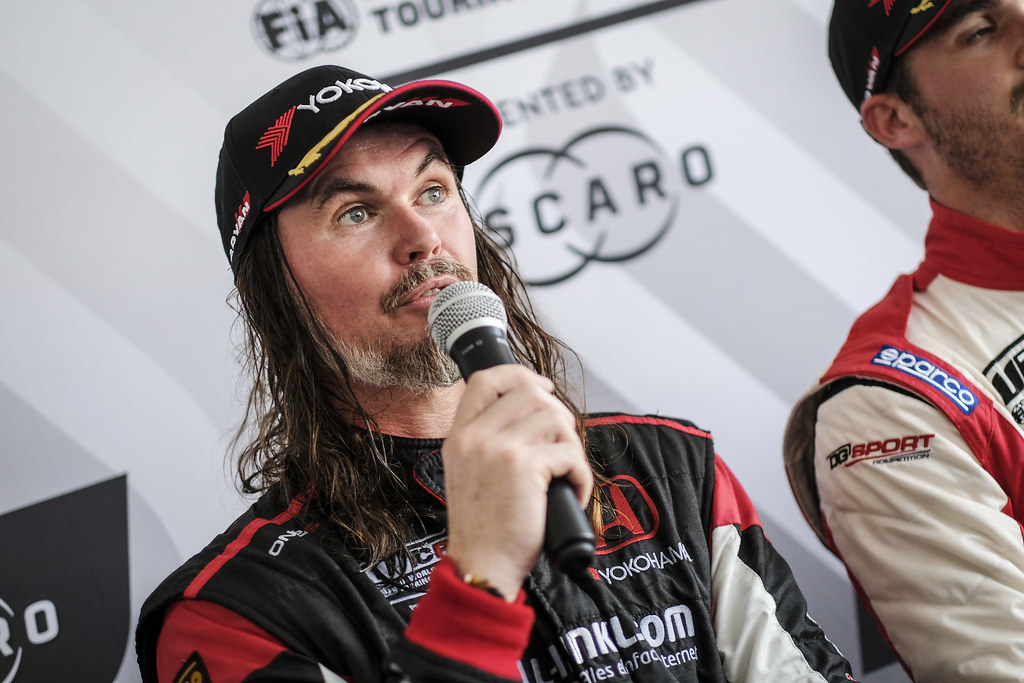 THOMPSON James, (gbr), Honda Civic TCR team ALL-INKL.COM Munnich Motorsport, portrait during the 2018 FIA WTCR World Touring Car cup of Zandvoort, Netherlands from May 19 to 21 - Photo Francois Flamand / DPPI