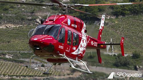 AirZermatt - Bell 429 - HB-ZOZ - Raron Airport