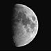 Moon 57% Illimnation