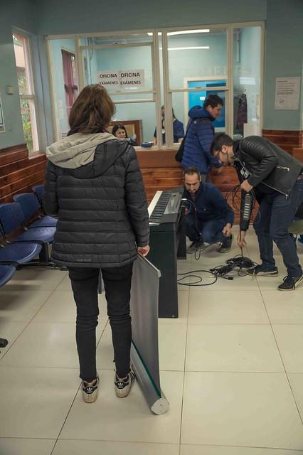 Intervención piano Cesfam Boca Sur