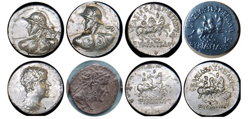Fake Bactrian coins