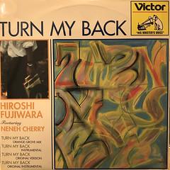 HIROSHI FUJIWARA:TURN MY BACK(JACKET A)