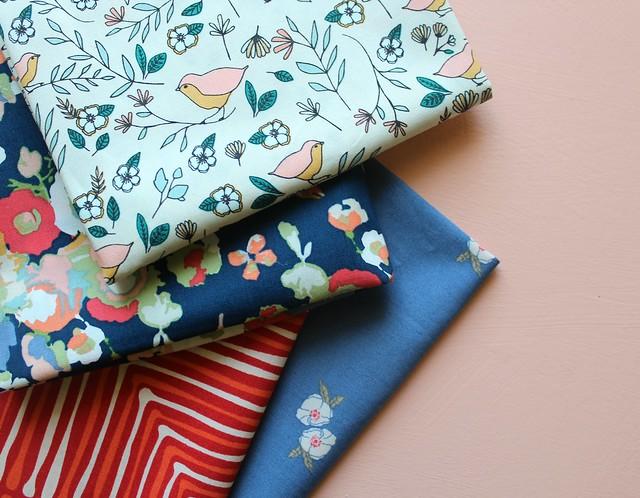 Blcok Ten Fabrics