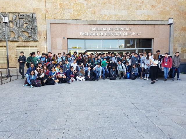 Olimpiadas Nacionales de Química. Salamanca