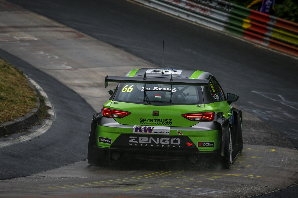 66 ZSABO Zsolt David (HUN), Zengo Motorsport, Cupra TCR, action during the 2018 FIA WTCR World Touring Car cup of Nurburgring, Germany from May 10 to 12 - Photo Clement Marin / DPPI