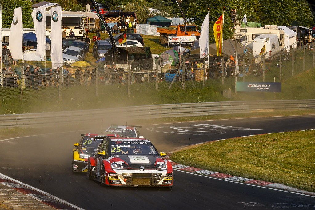 25 BENNANI Mehdi (MAR), Sebastien Loeb Racing, Volkswagen Golf GTI TCR, action during the 2018 FIA WTCR World Touring Car cup of Nurburgring, Nordschleife, Germany from May 10 to 12 - Photo Florent Gooden / DPPI