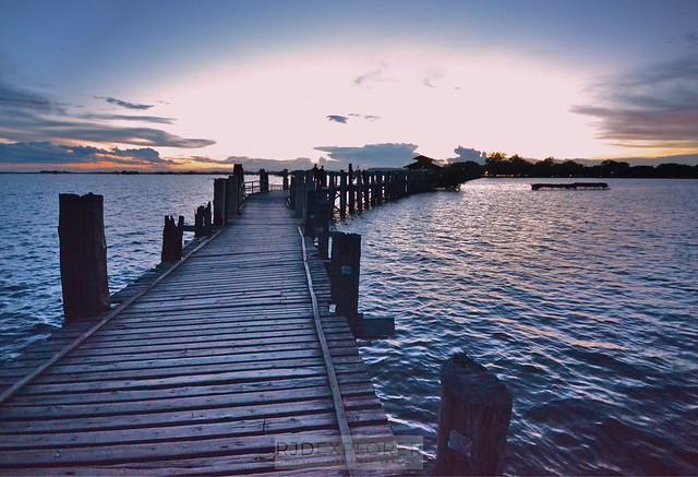 myanmar itinerary u bien bridge