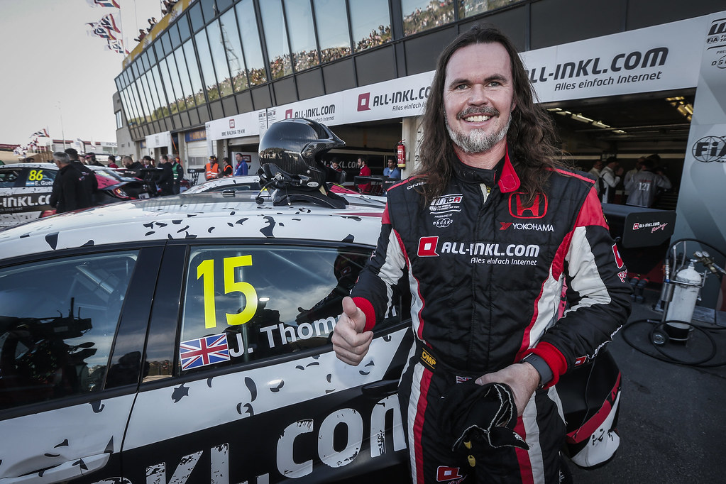 THOMPSON James, (gbr), Honda Civic TCR team ALL-INKL.COM Munnich Motorsport, portrait during the 2018 FIA WTCR World Touring Car cup of Zandvoort, Netherlands from May 19 to 21 - Photo Jean Michel Le Meur / DPPI