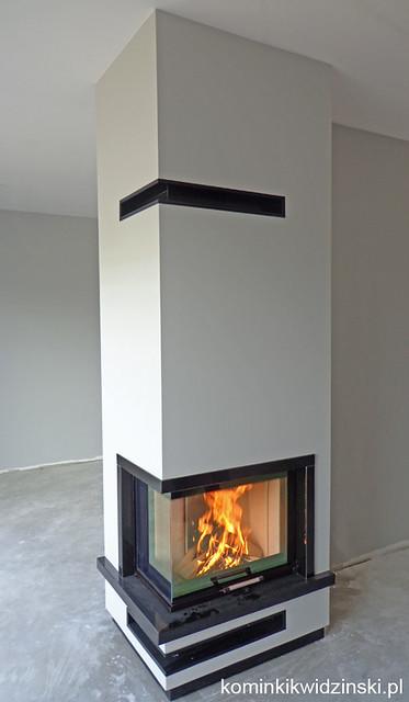 Fireplace Kominek nowoczesny - 687, Sony DSC-W630