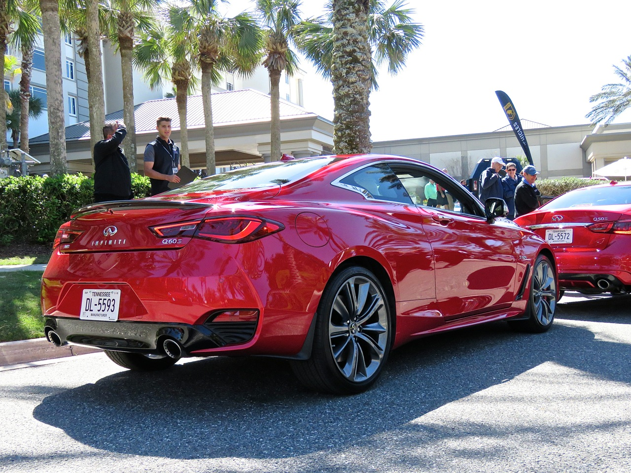 Infiniti Q60 Red Sport 400 AWD Review 5