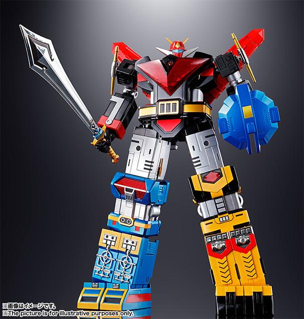 超合金魂 GX-60R 《神勇戰士》太空戰神 更新版本!宇宙大帝ゴッドシグマ(リニューアルバージョン)