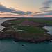 Sunset over St Anns Head