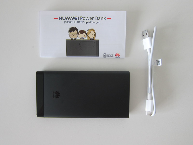 Huawei 10,000mAh SuperCharge Power Bank (AP09S) - Box Contents