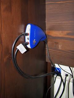 Kabels uit kruipruimte aangesloten op Dazzle