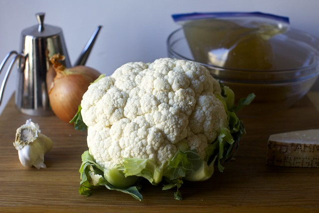 one head of cauliflower