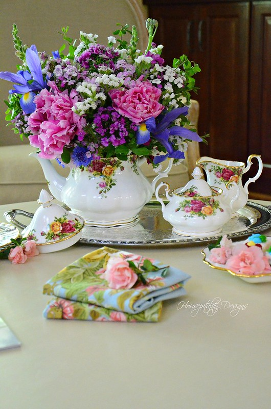 Teapot Arrangement-Housepitality Designs-4