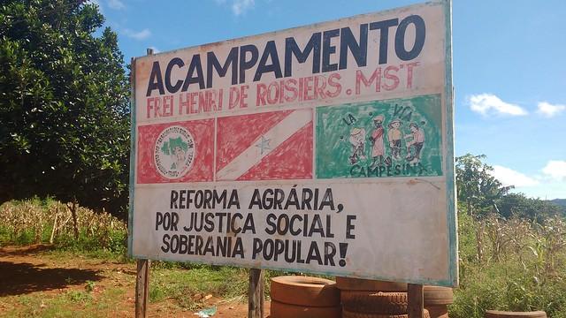 Foram sete anos de luta judicial para manter o acampamento - Créditos: Lilian Campelo