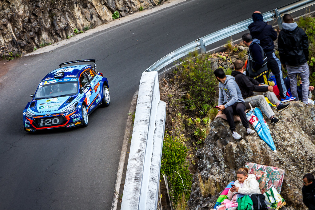 19 PERNIA Surhayen, PENATE Rogelio, Hyundai Motor Espana Hyundai i20 R5, action during the 2018 European Rally Championship ERC Rally Islas Canarias, El Corte Inglés,  from May 3 to 5, at Las Palmas, Spain - Photo Thomas Fenetre / DPPI