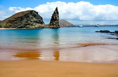 Beach on Bartolome Island