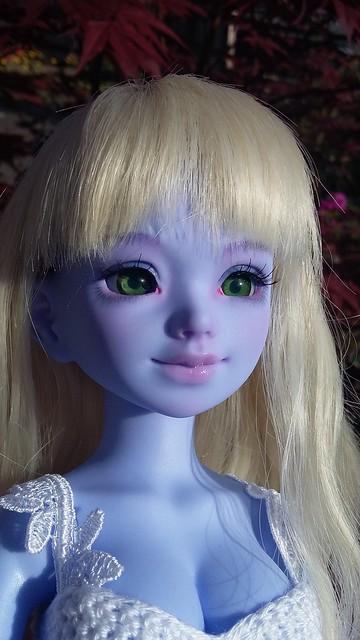 [Ventes] Bjd Chibi Unoa halloween vers. Violet skin Fullset  41259998124_9f4f1f35d6_z