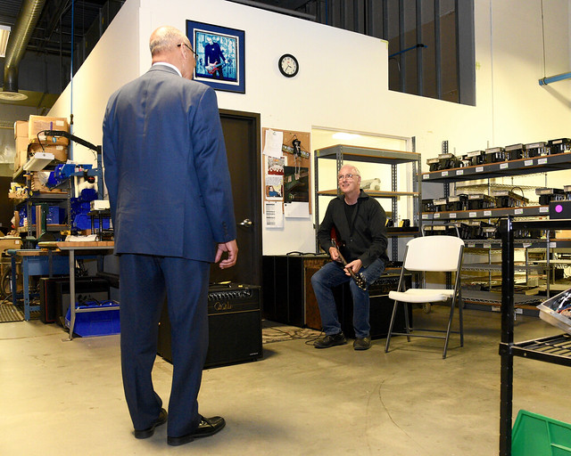 Photo:Paul Reed Smith Tour By MDGovpics