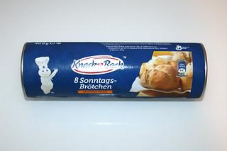 11 - Zutat Brötchenteig (Sonntagsbrötchen) / Ingredient bun dough