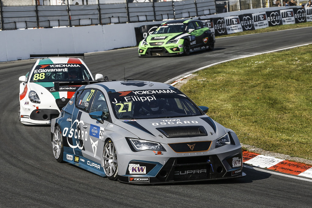 27 FILIPPI John, (fra), Seat Cupra TCR team Oscaro by Campos Racing, action during the 2018 FIA WTCR World Touring Car cup of Zandvoort, Netherlands from May 19 to 21 - Photo Jean Michel Le Meur / DPPI