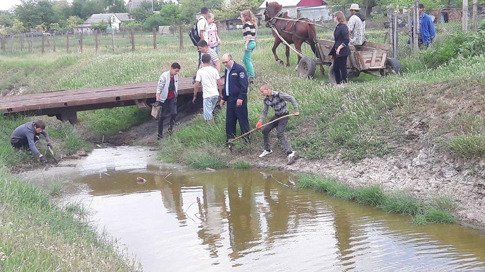 Acțiuni de salubrizare pe teritoriul raionului Leova!