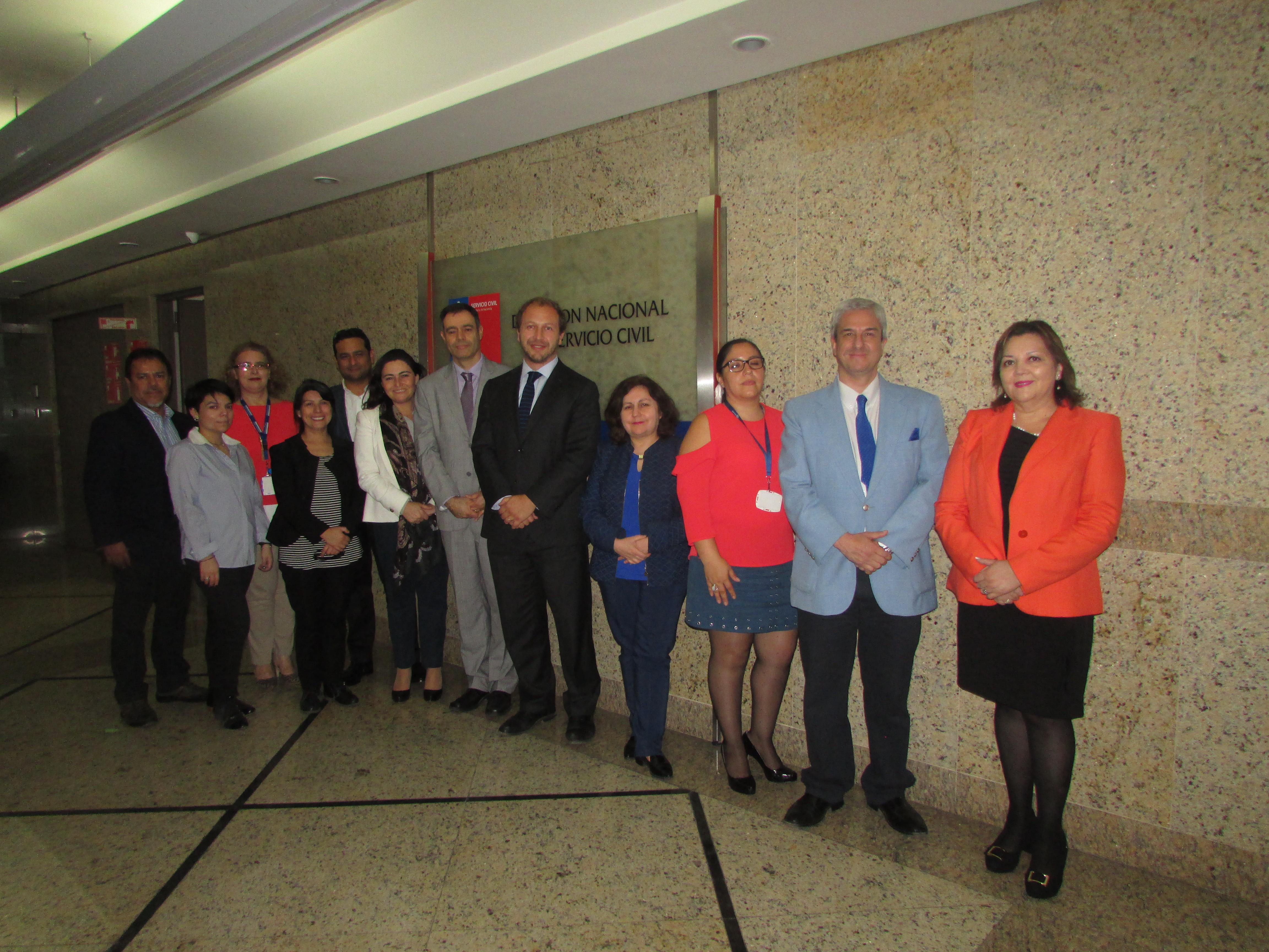 FTH con Director del Servicio Civil, Alejandro Weber – 19 Abril 2018