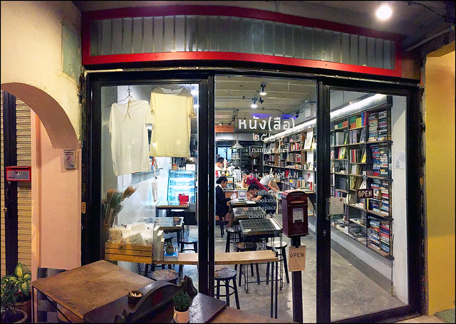 I was looking dorsum at some older photos from the years  BangkokMap: Bookhemian Cafe inwards Old <a href=