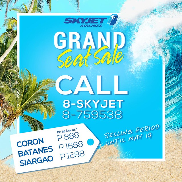SkyJet Airlines Grand Seat Sale 2018