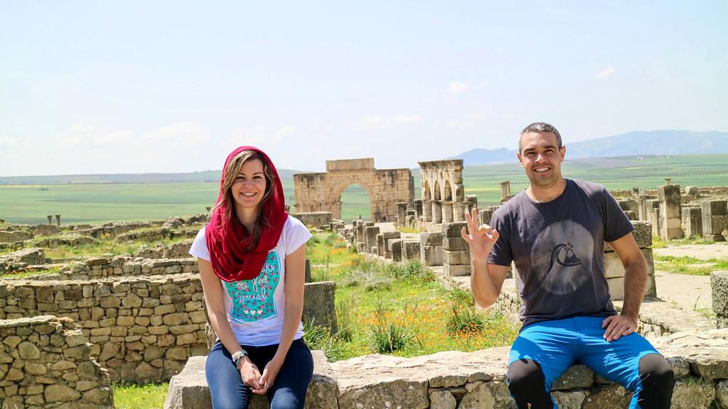 Tour para visitar Volubilis