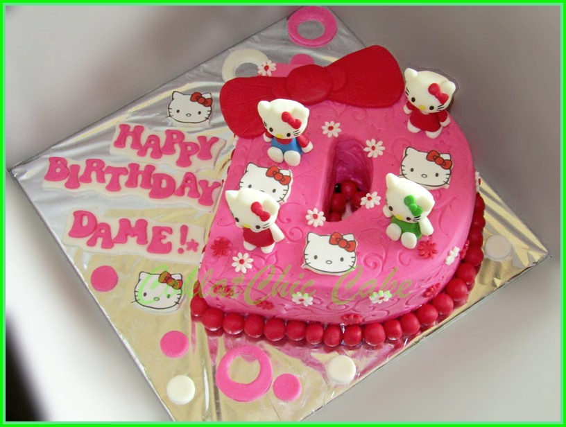 Cake Hello Kitty DAME 15 cm