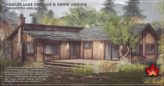 Trompe Loeil - Finnley Lake Cottage & Snow Add-On for Uber May
