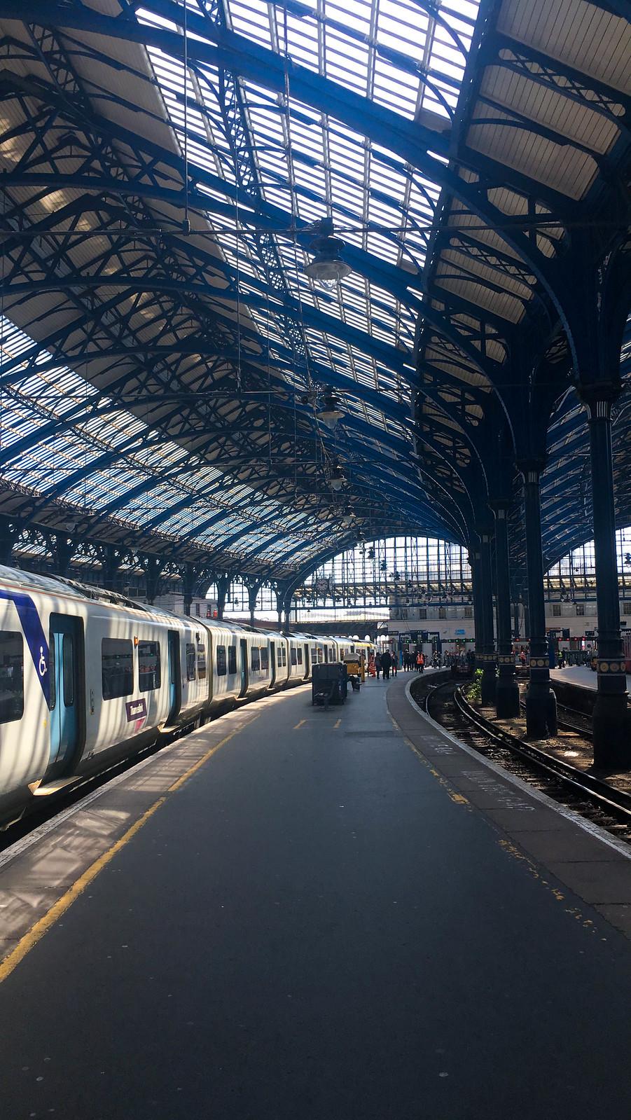 Tågstatitionen i Brighton