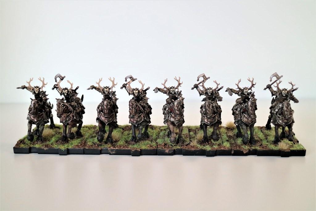 Runewars MIniatures Death Knights Group 2