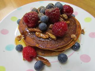 Summer Berry 'Buttermilk' Pancakes