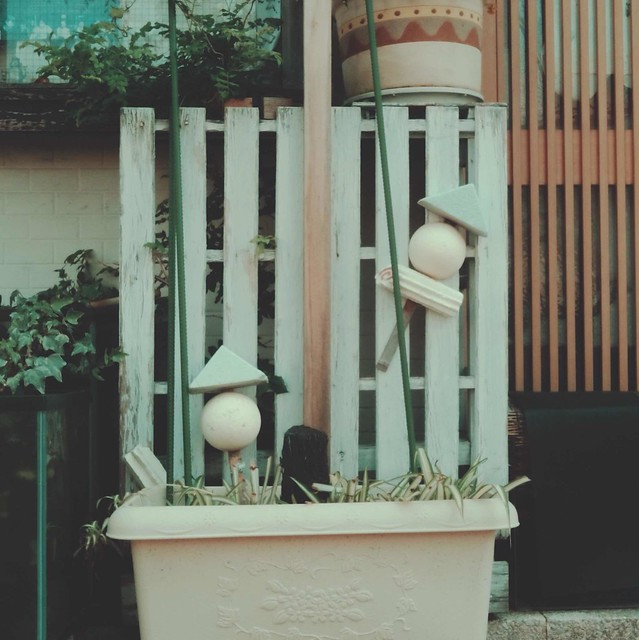 Mini fence decor