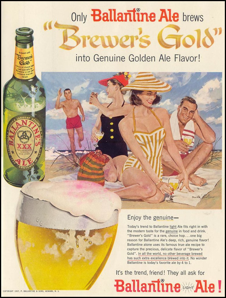 Ballantine-1957-beach-time