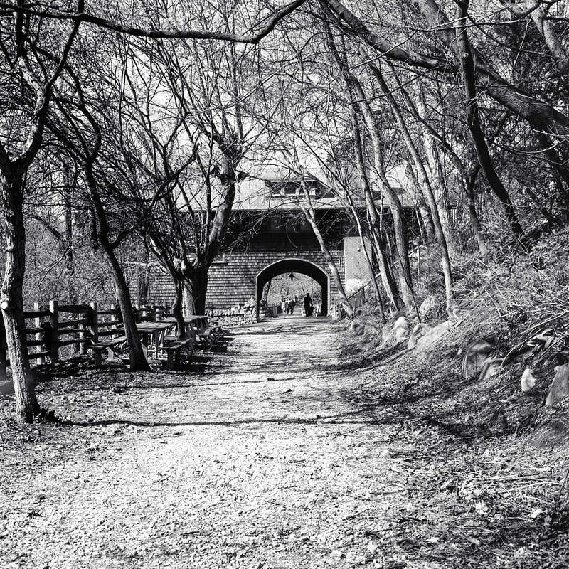 Riverdale Farm Meeting  Place Arch
