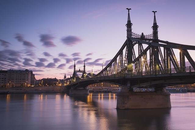 Liberty Bridge, Budapest, Fujifilm X-Pro2, XF23mmF1.4 R