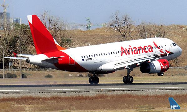 Avianca A319 N479TA (Maurice Becker)