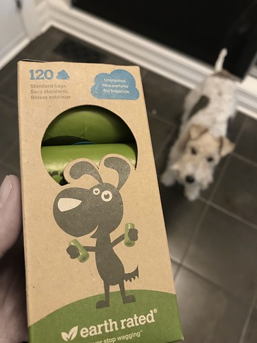 New poop bags for Piper