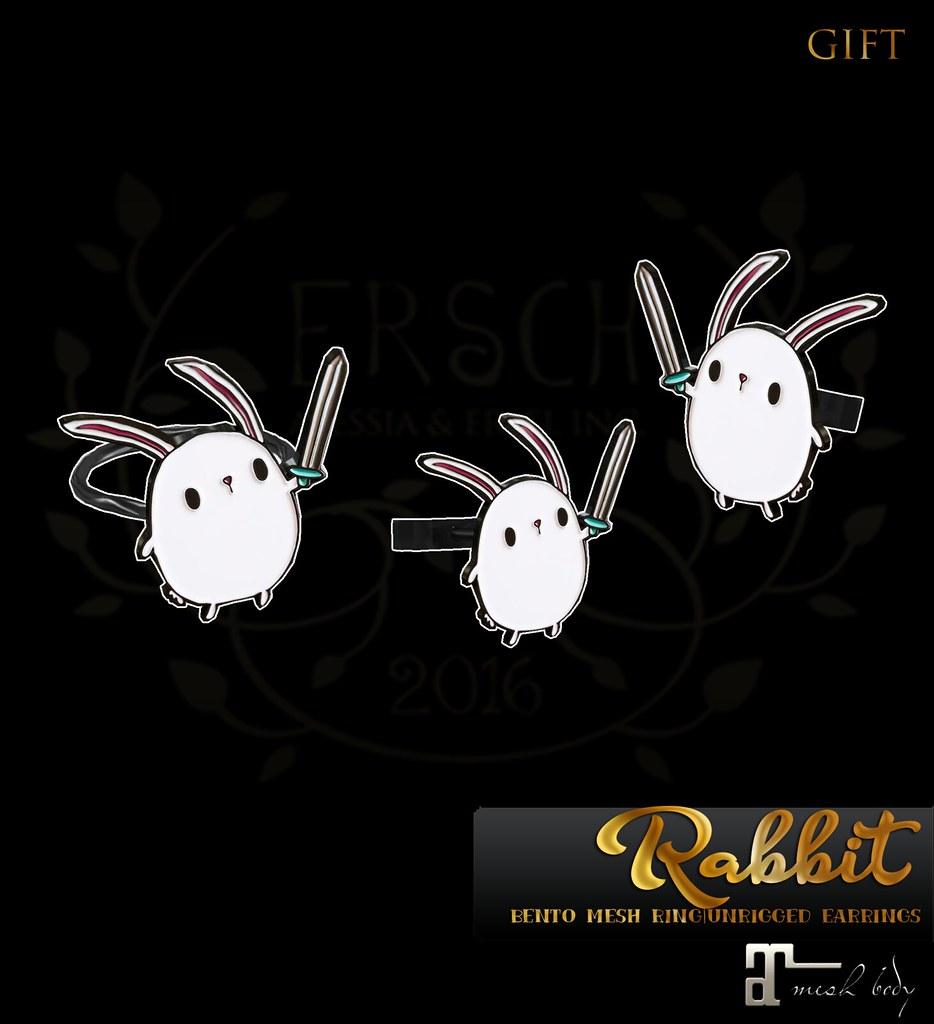 ERSCH - Rabbit Jewelry GIFT - TeleportHub.com Live!