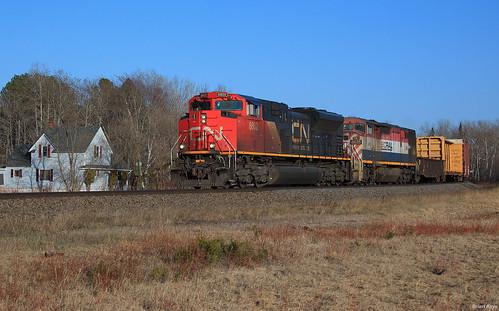 CN at South Range