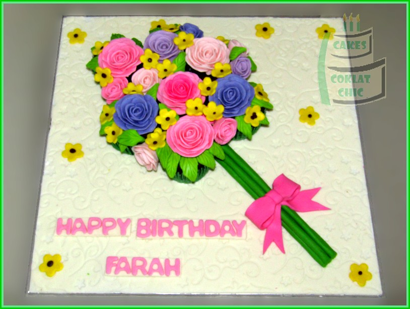 Cupcake dan Minicupcake set Flowers FARAH