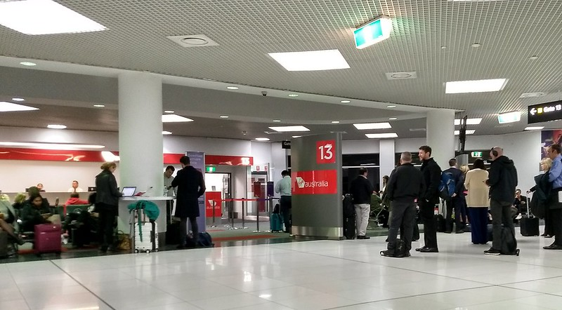 Gate 13 at Melbourne Airport