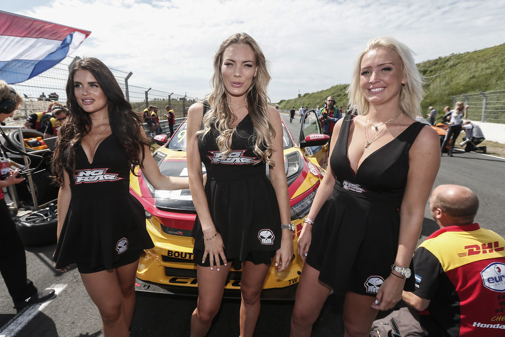 GRID GIRLS atmosphere, during the 2018 FIA WTCR World Touring Car cup of Zandvoort, Netherlands from May 19 to 21 - Photo Jean Michel Le Meur / DPPI